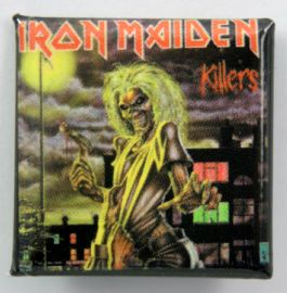 Iron Maiden - 'Killers' Square Badge